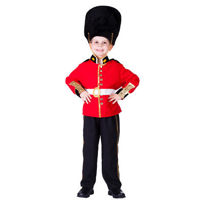 Deluxe Royal Guard Costume Fancy Dress Costume Set