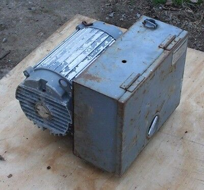 Cedarberg Industries, Rotary, Phase Converter, Model 100, 30 HP, 240 Volt, USED
