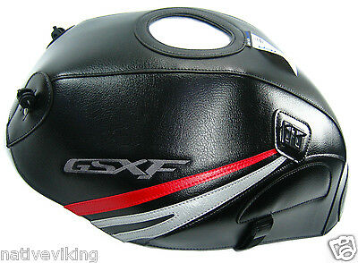 BAGSTER TANK COVER Suzuki GSX650F 2008 black PROTECTOR new FREE UK postage 1552A