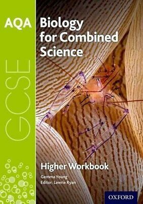 AQA GCSE Biology for Combined Science Trilogy by Gemma Young New Paperback Book