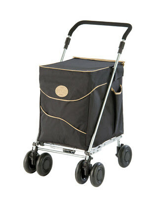 SHOLLEY TROLLEY CLEARANCE Limited Stock $Prices Reduced to Clear Black/Beige
