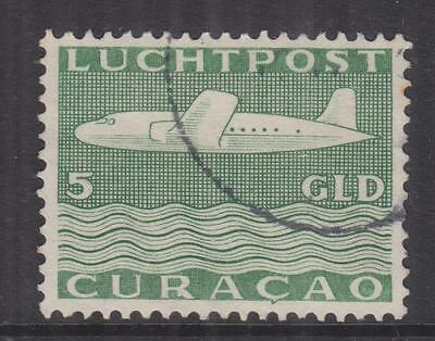 CURACAO, 1947 Air, 5g. Green, used.