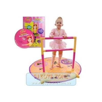 The Wiggles - Emma's Bowtiful Ballet Music Studio Double Sided Dance Mat for Kid