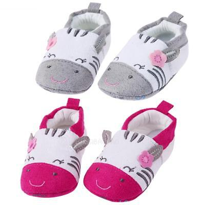 Newborn Infant Baby Kids Cartoon Warm Shoes Soft Sole First Walker Toddler Shoes