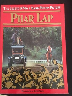 Phar Lap Book/magazine
