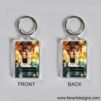 The Good Doctor - Freddie Highmore-  Photo Keychain #2