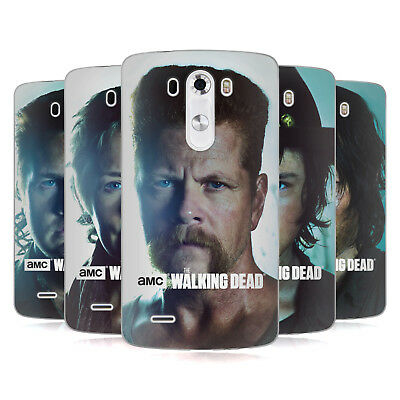 Official Amc The Walking Dead Characters Soft Gel Case For Lg Phones 1