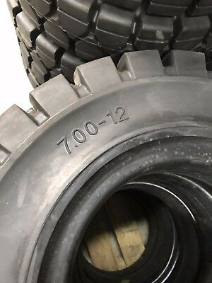 7.00-12 Solid Rubber Forklift Tire