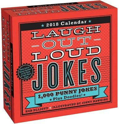 Laugh Out Loud Jokes 2018 Day-to-Day Boxed Desk Calendar by Andrews Mcmeel