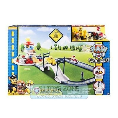 Paw Patrol Roll Patrol Launch N Roll Lookout Tower Track Playset Fun Kids Toy