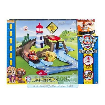 Paw Patrol Skye and Zuma's Lighthouse Rescue Track Set Fun Kids Toy Playset