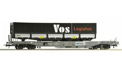 ROCO-67523-Goods Wagons ep-well flat cars (HO SCALE)