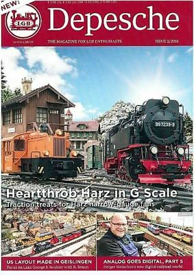 Lgb - Depesche In House Magazine New 2016 G Scale