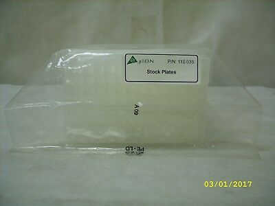 pION Laboratory Pharmaceutical 96 Well Stock Plate - 10 Pack - 110-035 *Sealed*
