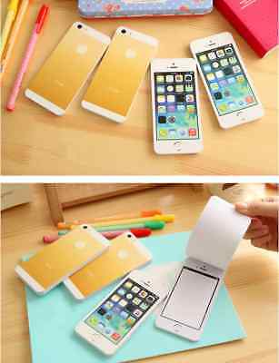 Funny Fake Iphone 5 - 50pages / pack Memo Writing Pad Paper Note Sticky Pad