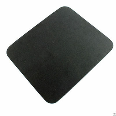 Black Mouse Mat 5mm Foam Backed