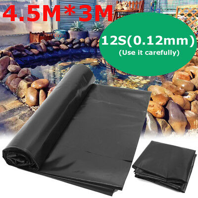 Fish Pond Liner 4.5X3m Garden Pools HDPE Membrane Reinforced Guaranty Landscapin