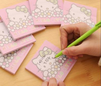 Hello Kitty 50pcs/pack Sticky Memo / Sticker / Post it Note / Writing Pad