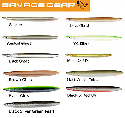 Savage Gear 3D Line Thru Sandeel Lures 85-110-125 and 150mm   crazy price