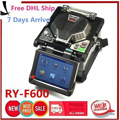 Ry-F600 Fusion Splicer Include Optical Fiber Cleaver Automatic Focus Function PK