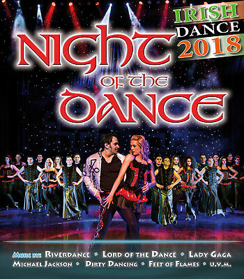 2 Tickets für NIGHT OF THE DANCE zum Knallerpreis von 99,90 Euro