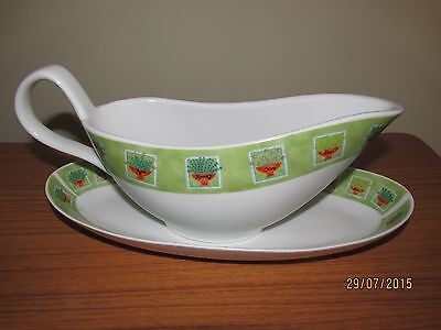 Gravy Boat + Saucer : Trade Winds