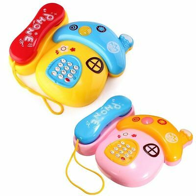 Top Musical Phone Sound Learning Study Educational Toys for Toddler Baby Child