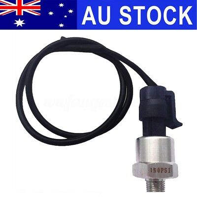 AU 0.5-4.5V 150psi Pressure Transducer Sender Sensor For Oil Fuel Diesel Gas Air