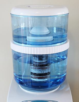 Aqua to Go Vito Compatible Self Fill Water Cooler Bottle + Water Filter.