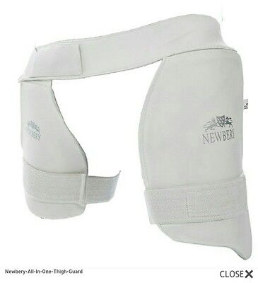 Newbery All In One Thigh Guards