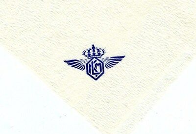 KLM Napkin Royal Dutch Airlines 1950's