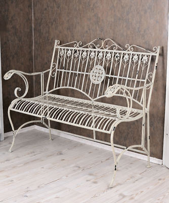 sitzbank bank antik stil eiche stabil shabby chic eur 1. Black Bedroom Furniture Sets. Home Design Ideas