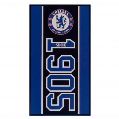 Chelsea FC Large Velour Beach Towel Official Chelsea Football Club Accessories