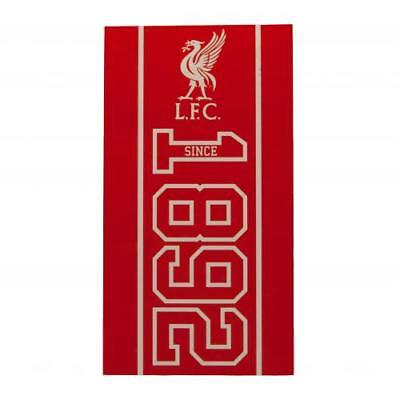 Liverpool FC Large Velour Beach Towel Official LFC Accessories