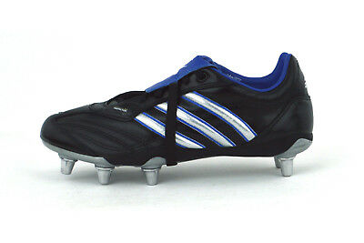 Adidas Flanker Iv Wide Fit - Mens Rugby Boots - 929613 - Black - Brand New