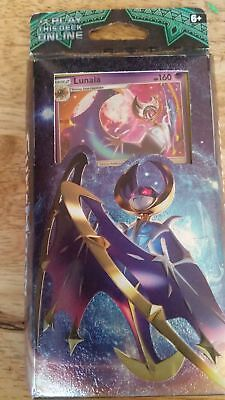 Pokemon Sun & Moon Guardians Rising Lunala Hidden Moon Theme Deck New And Sealed