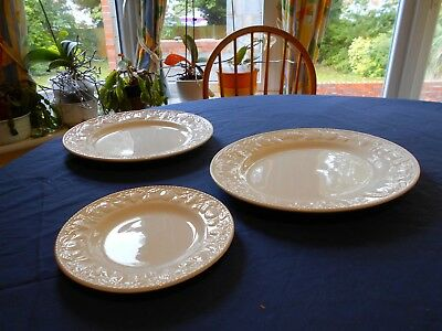 BHS Lincoln-only set of side plates left (Free post)