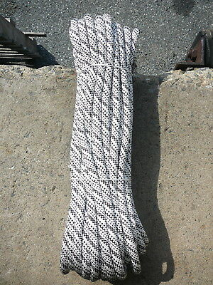 """1/2"""" x 75' Kernmantle Static Line, Low Stretch Rope Climbing, Rappel, Tag Line"""