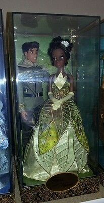 Disney Fairytale Designer Collection LIMITED to 6000 Tiana and Naveen Set - RAR