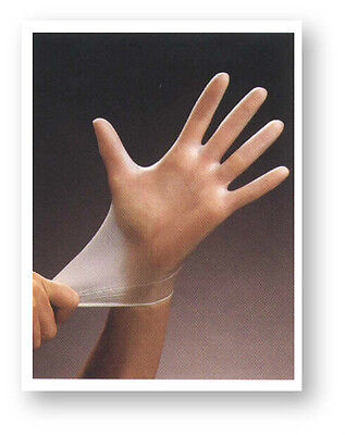 NEW Vinyl Disposable Gloves (Latex Nitrile Free) Size Small 1000/Case