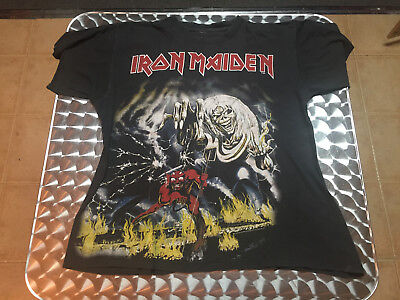 Vintage Iron Maiden 1982 THE NUMBER OF THE BEAST  Tour T Shirt Size M