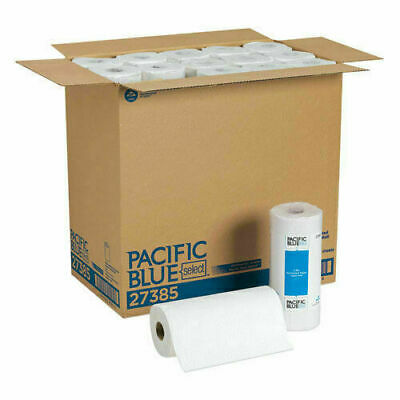"GP Pacific Blue Select White Paper Towel Roll 11""W x 78'L, 30 Rolls, 27385"