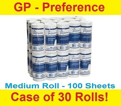 Georgia-Pacific 27300 Preference 2-Ply Perforated Paper Towel Case/30 Rolls