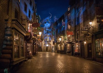 Harry Potter Movie Diagon Alley A3 260Gsm Poster Print