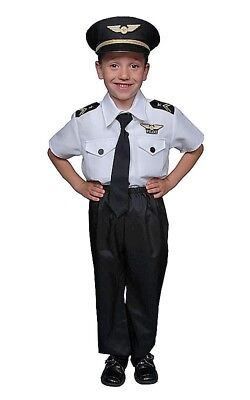 Deluxe Childrens Pilot Costume Set By Dress Up America