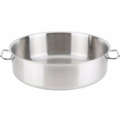 Vollrath 47762 Intrigue 24 Qt. Brazier Pan Stainless Steel