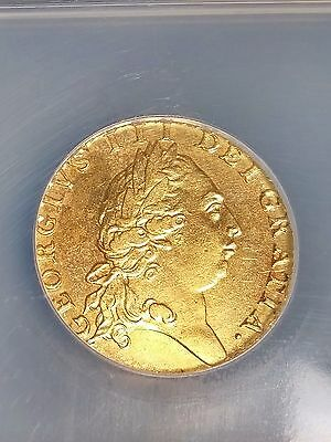 Rare 1792 Great Britain GOLD 1GUINEA AU Details NCS-Certified Improperly Cleaned