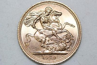 1979 Great Britain Gold Sovereign - LOOK!