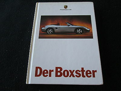 1998 Porsche Boxster GERMAN Sales Brochure 96-pg Hardcover Detailed 986 Catalog