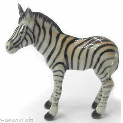 Little Critterz Northern Rose Critter Zebra Baby Miniature Figurine Wee R113